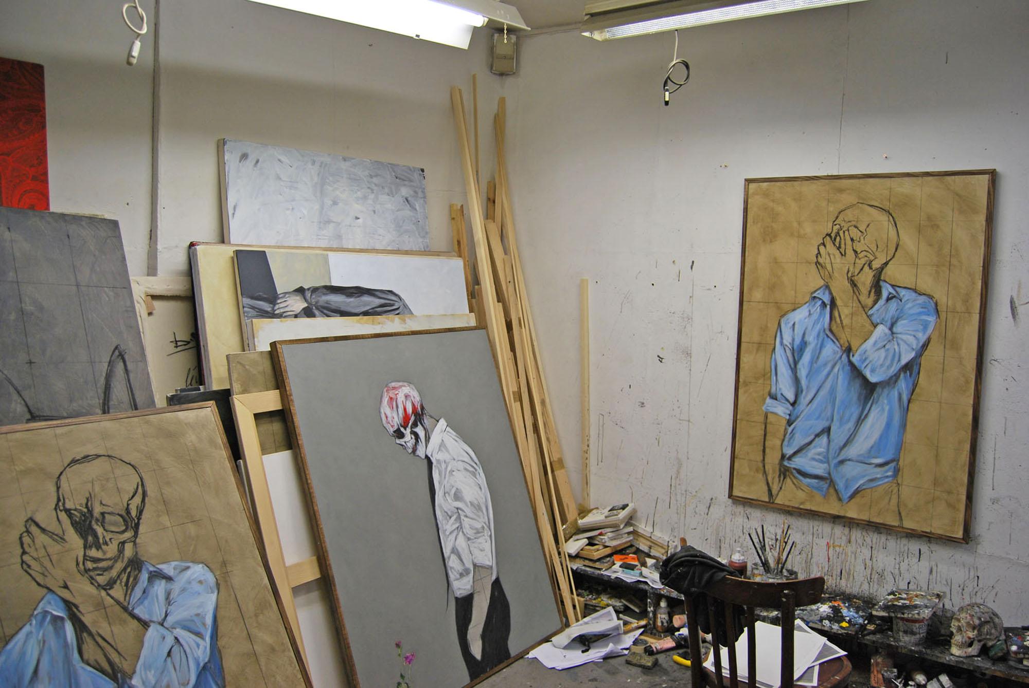 Benjamin Girard- 2013-atelier