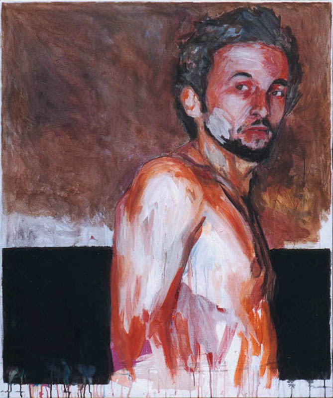 Benjamin Girard- 2002-autoportrait