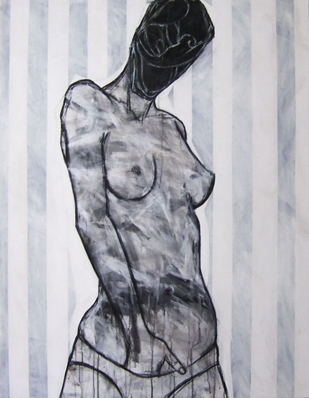 Benjamin Girard -2007 – Black nude2