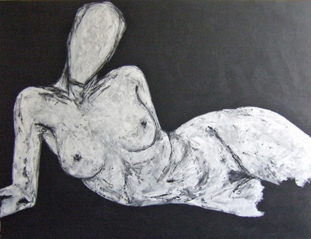 Benjamin Girard -Frictions- Nu allongé